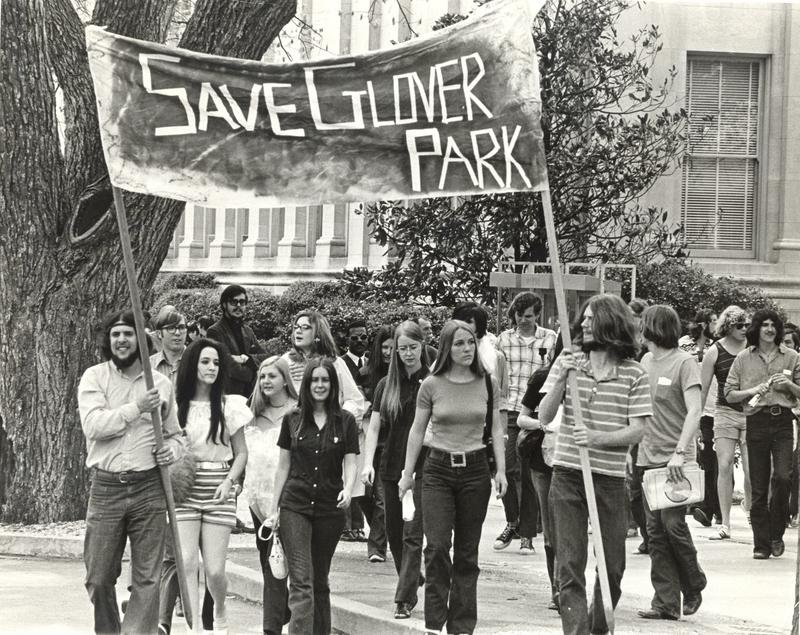 Glover Park Protest
