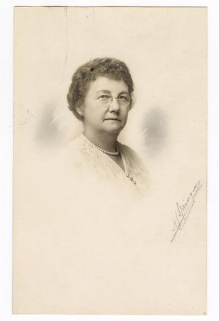 Portrait of Sarah B. Cochran, undated