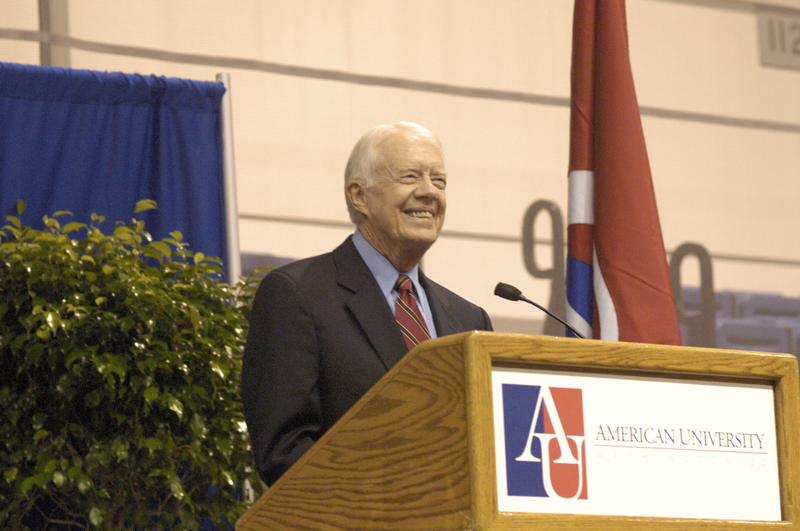 Former President Carter Speaking at American University