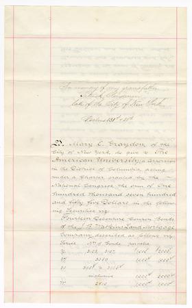 Letter detailing donation_Graydon to Hurst_Feb1894_1.jpg