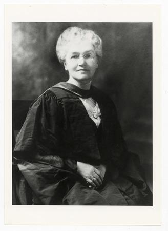 Portrait of Ellen Spencer Mussey, undated