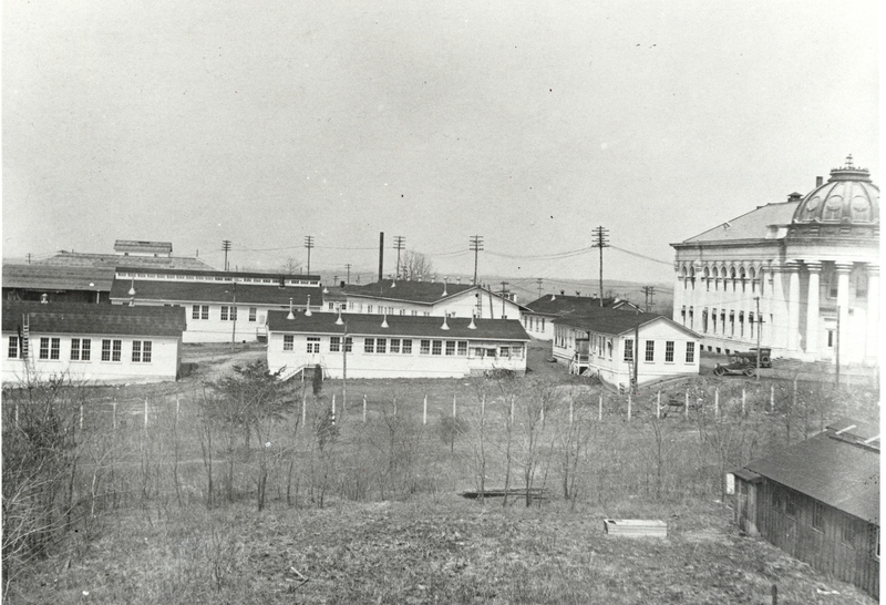 Chemical Lab building behind McKinley