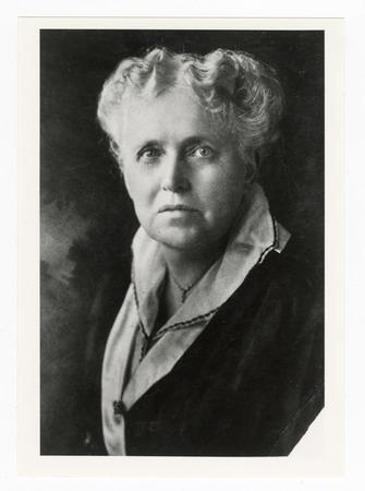 Portrait of Emma Gillett, undated