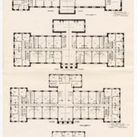 Women's Residence Hall plans, June 1925