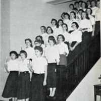 Christmas At Mary Graydon Center 1957