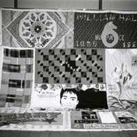 AIDS Quilt in Mary Graydon Center 1993