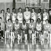 1980-1981 Basketball Team Photo