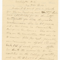 Letter to Rev. Wilbur L. Davidson from Samuel L. Beiler, 05 April 1900