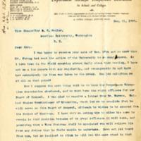 Letter from Mary H. Hunt to Samuel L. Beiler 21 December 1895