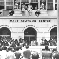 Demands Rally Mary Graydon Center