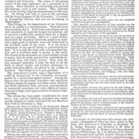 """""""The College of Scientific Temperance,"""" The Courier, December 1895"""