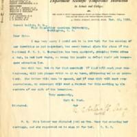 Letter from Mary H. Hunt to Samuel Beiler 21 November 1895